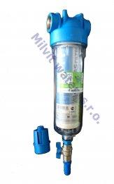 """Odstranění mechanických nečistot a kalu - Atlas filtr 10"""" S G1"""" s odkalováním vč. 50 mcr. vložky"""